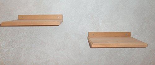 Katzen Wandpark, handgefertigte Tiermöbel / Luxusmöbel, Katzenmöbel in vielen Ausführungen, Kratzbaum / Katzenbaum für die Wand. Hier: !Doppelpack! Wandbretter 30 x 20 cm (12P22)