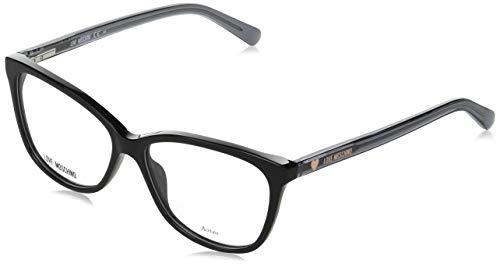 Moschino marco óptica MOL546 807 negro de acetato tamaño de 55 mm de mujeres