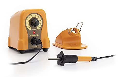 白光(HAKKO) マイペンアルファ 温度調節機能付き電熱ペン ウッドバーニング/カービングアート/彫金用 FD210-01