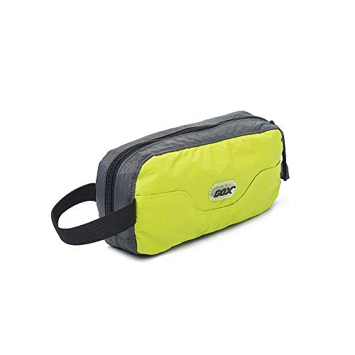 GOX Travel Toiletry Bag,Dopp Kit Case,Ultra-Light Cosmetics Bag Makeup Organizer(Green)