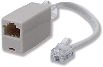 Phonapart RJ11 Plug to RJ45 Socket Line Adaptor