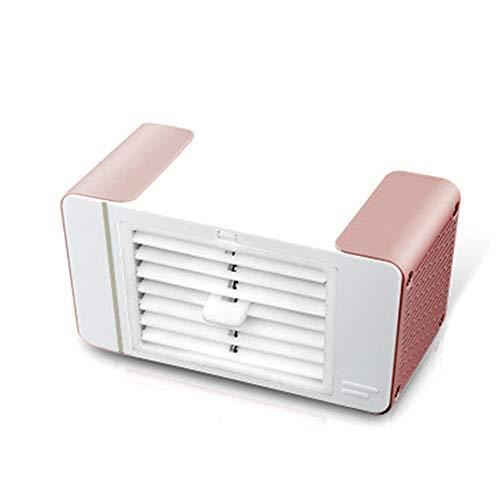 NCBH ventilator voor led-tafellamp, draagbaar, zonder timer, 1 snelheid van de ventilator kan een pakket ijsblokjes, geschikt voor op reis, op de camping