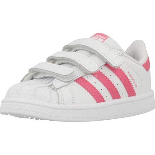 Adidas Superstar CF I, Zapatillas de Gimnasia Unisex Niños,