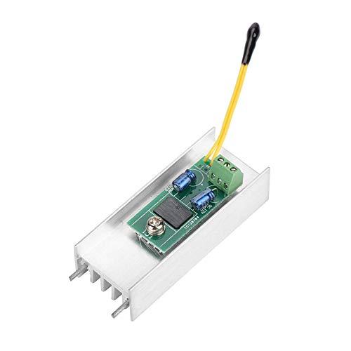 12V 1A Lüfter Drehzahlregler, Lüfter Automatische Temperaturregelung Thermostat Drehzahlregler