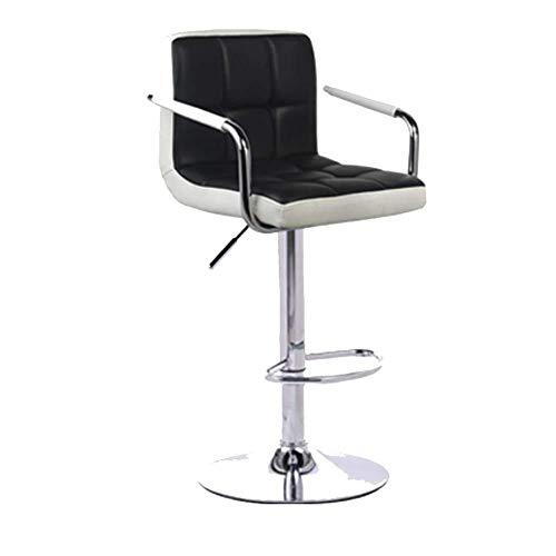 OSALADI vrijetijdsstoel ChairStoolFaux leer ontbijt keuken barkruk barkruk lifting draaibare rugleuning High Feet Front Desk