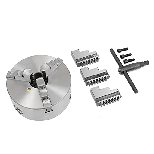 Torno Chuck 3 mandíbula 130mm K11-130 Metal Máquina de perforación de autocontrol de metal Parte