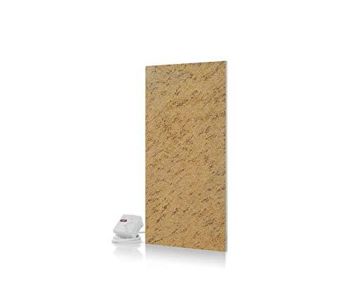 Magma® Naturstein-Infrarotheizung Granit 400 - Deutscher Hersteller seit 1992 - Magmaheizung mit 10 Jahren Garantie (Granit Kashmir Gold)
