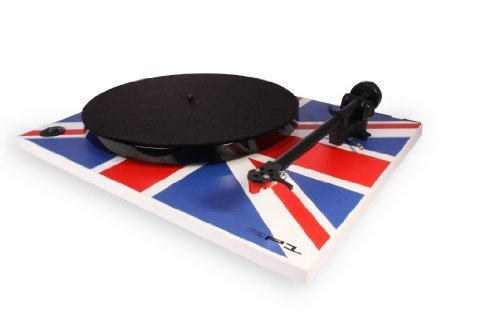 Rega RP1 Turntable Union Jack Edition with Performance Pack by Rega