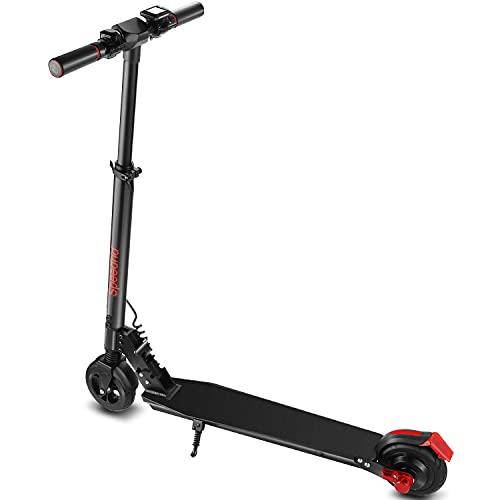 Speedrid Scooter elettrico per adulti e adolescenti, leggero commuter Scooter con motore 250W, 3 modalità di velocità fino a 8 miglia E Scooter
