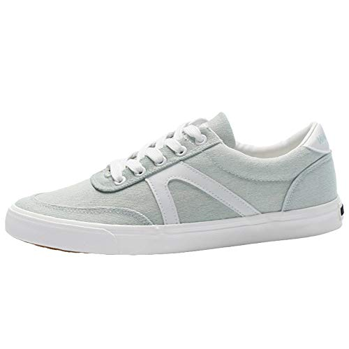 Heren Schoenen, Classic Low Top Sneakers Casual Walking Sportschoenen Lace-Up Skateboarding Shoes Street Fashion,Light blue,41EU