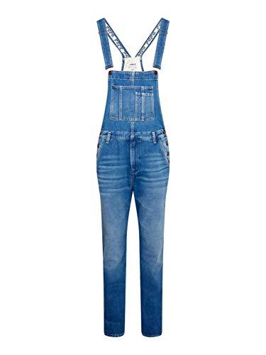 Pepe Jeans Herren Latzjeans DOUGIE Hammer Blue Denim XL (42)