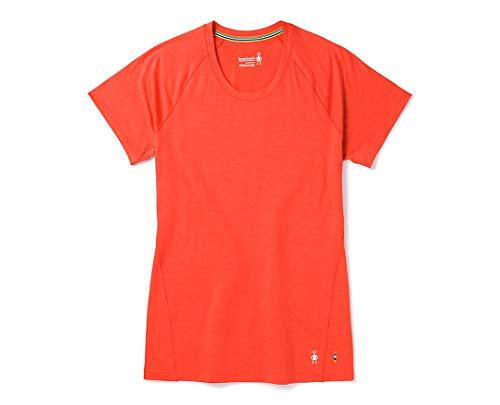 Smartwool Merino 150 Wool Top - Women's Baselayer Short Sleeve Performance Shirt Habanero Medium
