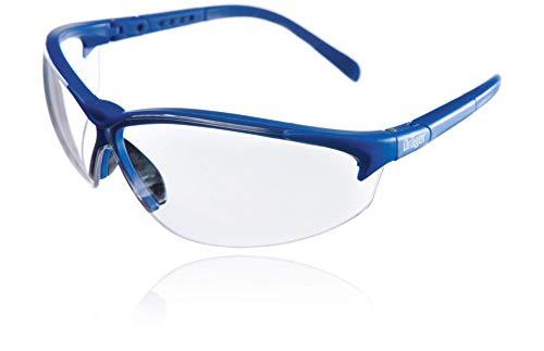 Dräger Schutzbrille X-pect 8340 | Bügel in Länge und Winkel verstellbar | Für Baustelle, Werkstatt, Fahrrad-Fahren, Joggen | Klar, Kratzfest und beschlagfrei | 1 St.