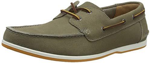 Clarks Pickwell Sail męskie buty żeglarskie, beżowy - Beige Sage Suede Sage Suede - 44.5 EU