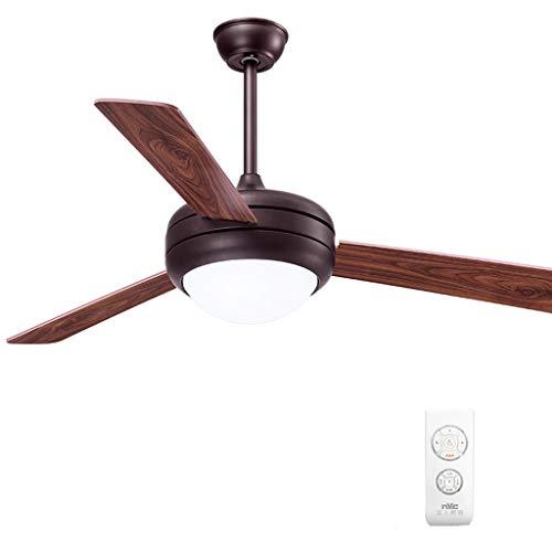 Plafond ventilator licht 132cm hout blad ventilator licht thuis restaurant slaapkamer