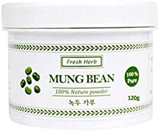 Fresh Herb 100% Natural Mung Bean Facial Mask Powder Pack 120 g / 4.23oz