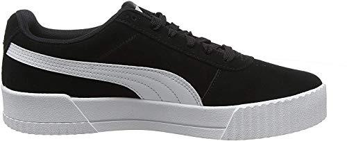 Puma Damen Carina Sneaker, Schwarz Black Black Silver, 38 EU