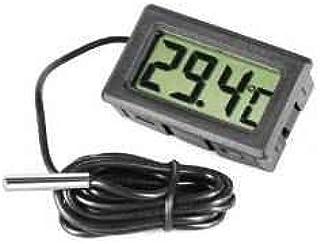 Omkuwl Termómetro de acuario LCD digital con termómetro de