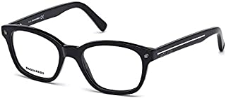 Dsquared2 DQ 5175 Col 001, Size 51-19-145 Unisex Optical Frames