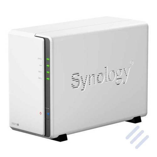 Synology DS213j 2X SATA 1.2GHz Bundle mit 2X 2000GB