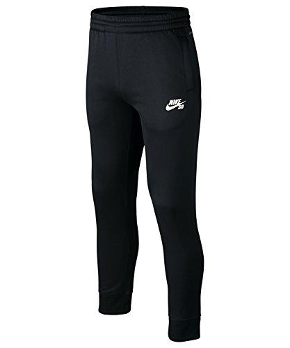 Nike Kinder SB Solid Therma-Fit Logo Pant, Hose Farbe: Schwarz; Größe: 110-116 cm (5-6 Jahre)