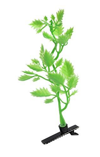 """'Plante Pinces à cheveux """"Persil – 4 set. Super Cool Trend Barrette à cheveux, Top Mode Trend en Asie, lustiger Green clip, tendance plantes Pince à c"""
