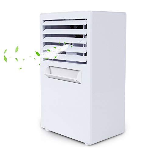 HyiFMY Aire Acondicionado apartamento, Spray hidratante de la Piel Ahorro de energía Agua y Falla de Potencia Protección de la protección de Escritorio multifunción Creativo Mini Aire Acondicionado