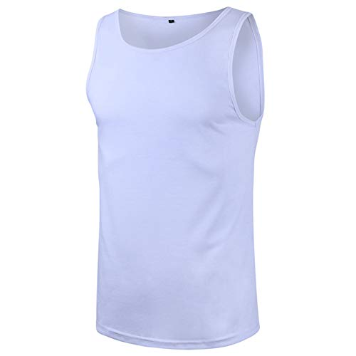 SSBZYES Camisetas para Hombre Camisetas Sin Mangas para Hombre Chaleco Deportivo Ajustado De Verano para Hombre Chaleco Sin Mangas Ajustado Transpirable Absorbente De Sudor para Hombres De Europa
