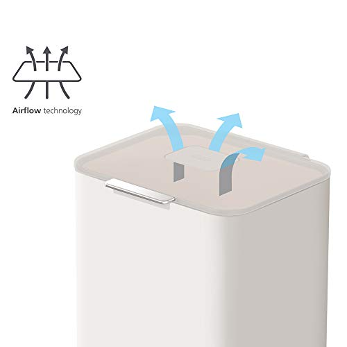 Product Image 14: Joseph Joseph 30061 Intelligent Waste Totem Max Kitchen Trash Can and Recycle Unit with Compost Bin, 60 Liter/16 Gallon, Stone