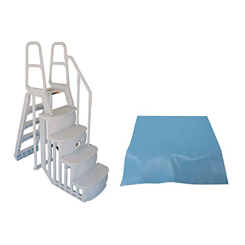 Main Access 200100T Above Ground Swimming Pool Smart Step/Ladder System w/Pad