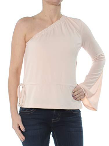 RACHEL Rachel Roy Damska bluzka z nadrukiem grudnia na jedno ramię