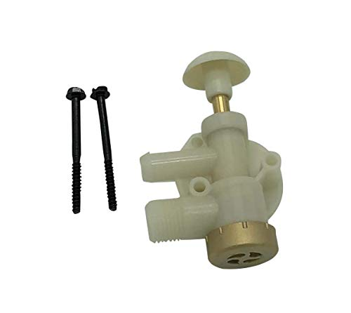 Beech Lane RV Upgraded Toilet Water Valve Assembly 385314349 for Dometic Sealand EcoVac Vacuflush Pedal Flush Toilets, Leak Resistant, Increased Lifespan, High Performance in Freezing Conditions