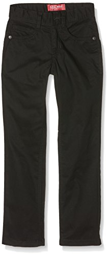 G.O.L. Jungen Five-Pocket-Stretch-Jeans, Slimfit Jeanshosen, Schwarz (Black 2), 140
