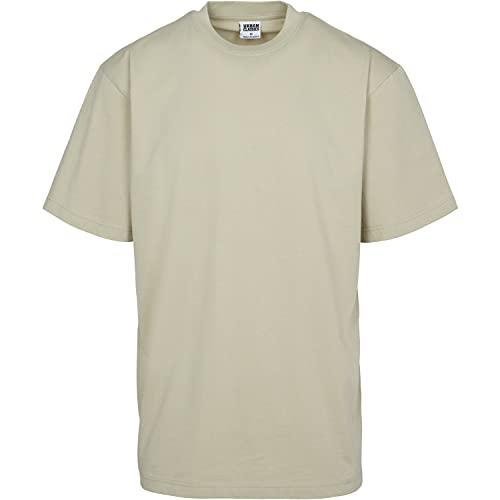 Oferta de Urban Classics Basic Crew Neck Tall Tee, Camiseta, para Hombre, concrete, 5XL