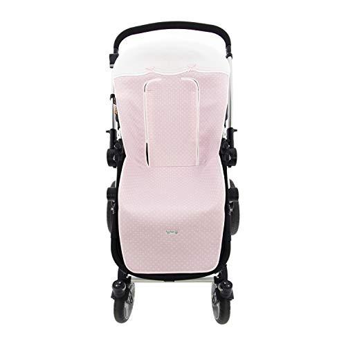Colchoneta o funda de Paseo para silla Universal Rosy Fuentes en color rosa