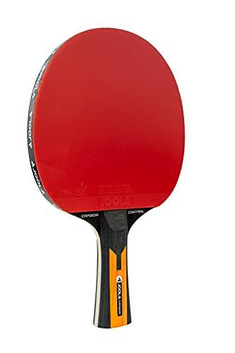 JOOLA Tischtennisschläger CARBON CONTROL - ITTF zugelassener Tischtennis-Schläger für Fortgeschrittene Spieler - Carbowood Technologie