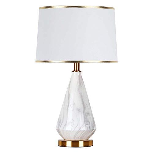 Bradoner Moderne einfache Phnom Penh weiße Marmor-Tischlampe nordische...