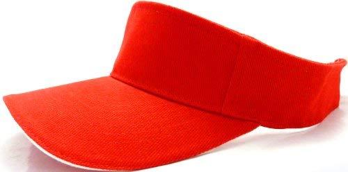Evil Wear Casquette de tennis avec fermeture Velcro Rouge