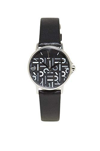 Esprit horloge met logo wijzerplaat