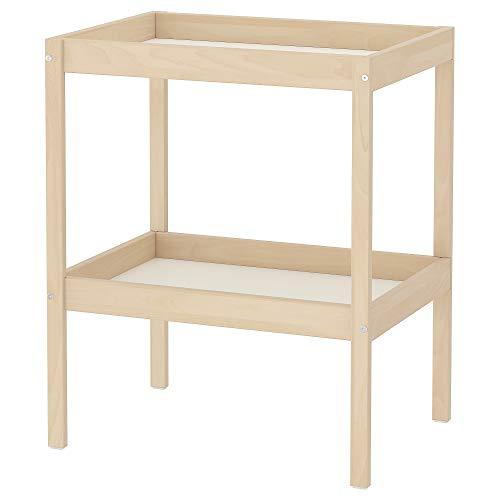 IKEA 501.975.89 Verwisselbare tafel Sniglar, Beuken, Wit