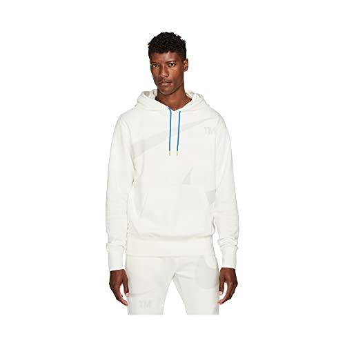 Nike Swoosh DD6011-133 - Sudadera con capucha para hombre, Color blanco., XL