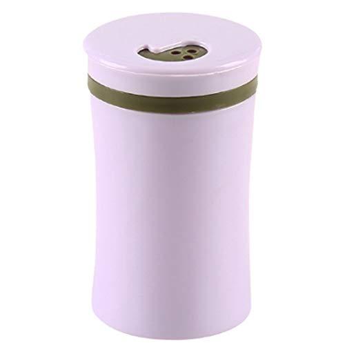 PPING Palillo de Dientes Caso Almohadillas de algodón Titular Tarro de Palillos de Dientes de Estilo Simple De Palillos de Dientes dispensador Purple