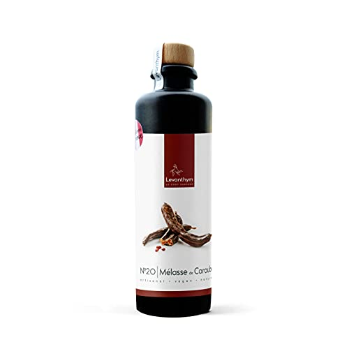 N.20 Melassa di Carruba alternativa a zucchero e cioccolato - 100% Carruba - Naturale e Vegan