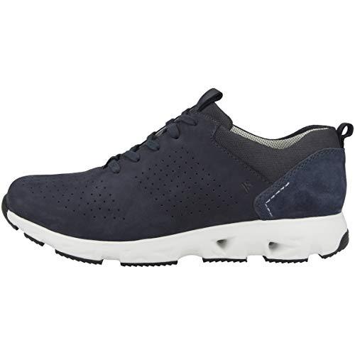 Josef Seibel Noah 02 - Zapatillas de deporte para hombre (normal), plantilla suelta, color Azul, talla 44 EU
