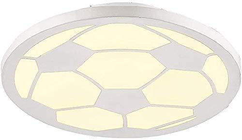 miwaimao Lámpara de pared de dibujos animados Led de fútbol Personalidad Iluminación Dormitorio Niño Niño Dormitorio Soporte de Luz