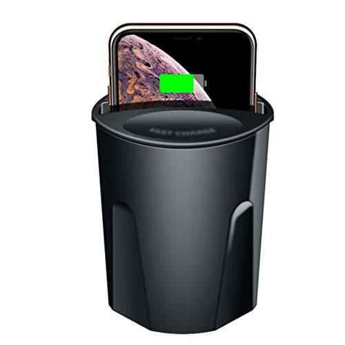 Wsaman Multifonctionnelle Voiture 3 en 1 sans Fil Chargeur, QI 10W Rapide sans Fil Chargement Tasse pour IPhone 8/8 Plus/X/XS/Max/XR/Samsung Galaxy S9/S9+/S8/S8+/S7+/Note 8