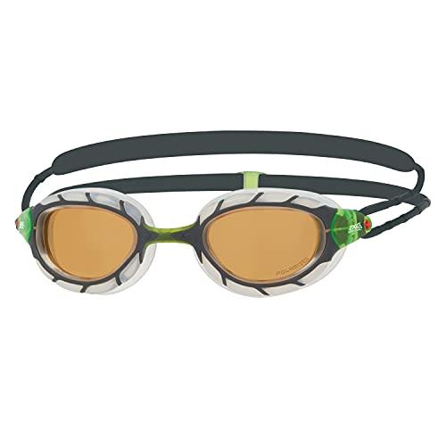 Zoggs Predator Polarized Ultra Regular fit Gafas de natación, Adultos Unisex, Multicolor (Multicolor), Talla Única