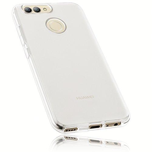 mumbi Hülle kompatibel mit Huawei Nova 2 Handy Hülle Handyhülle, transparent Weiss