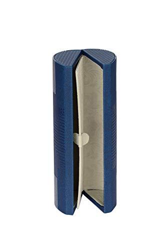 BiP Praktisches Brillenetui für 2 Brillen mit Magnetverschluss (dunkelblau)