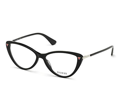 Guess Brille (GU-2751 001) Acetate Kunststoff schwarz glänzend